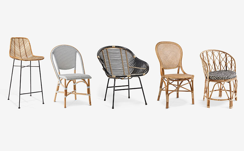 th2studio rattan chairs