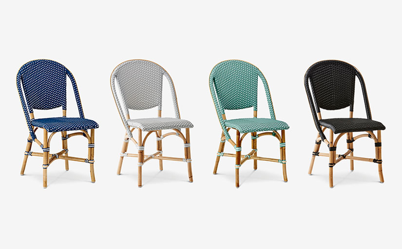 Woven Bistro Chair colour ways