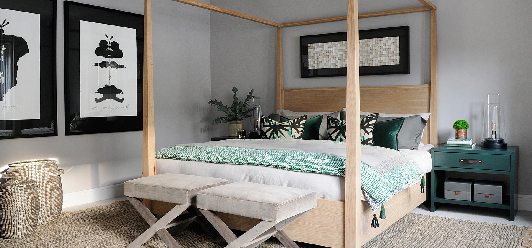 Perfect Four Poster Bed
