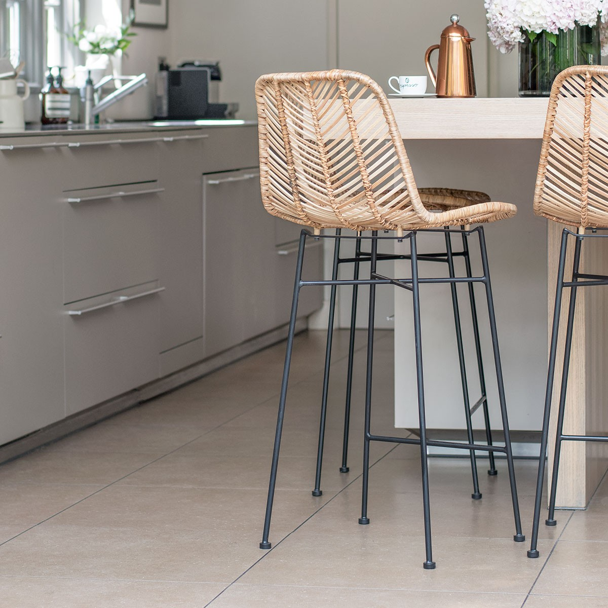 Rattan Bar Stool Th2studio