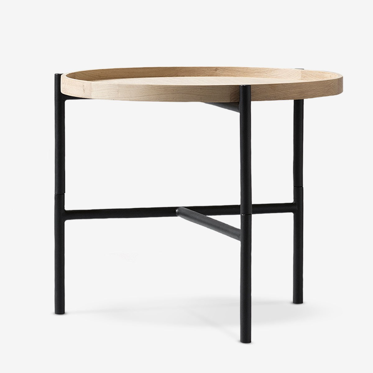 Wood Amp Metal Tray Table