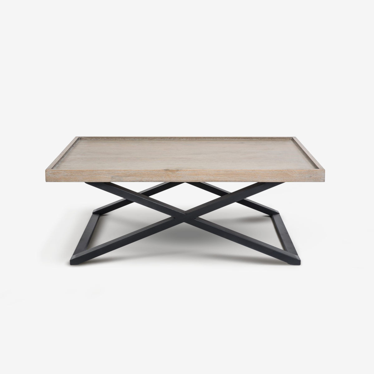 X FRAME COFFEE TABLE