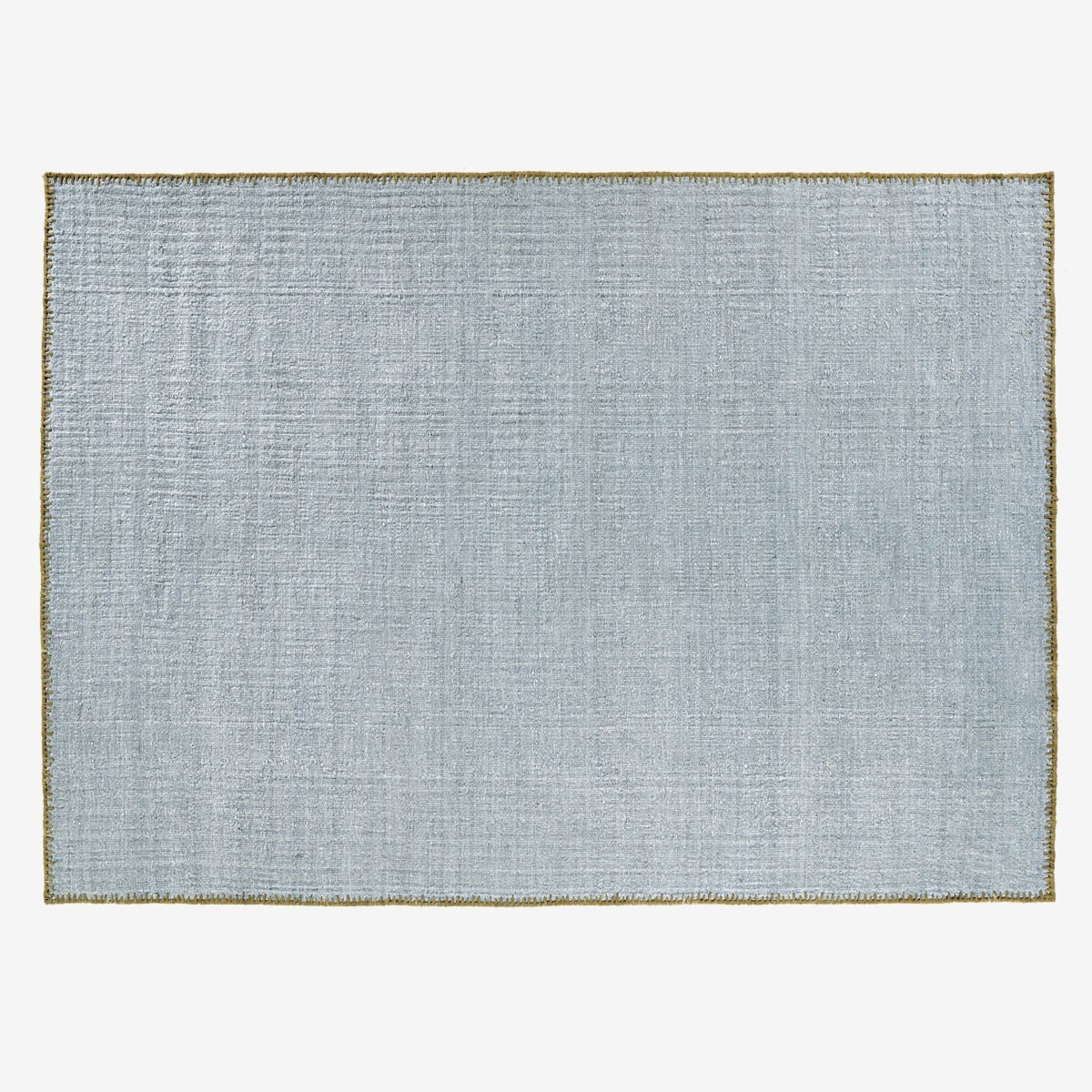 Image shows Atacama Rug in Stone Blue - 250 x 350 cm