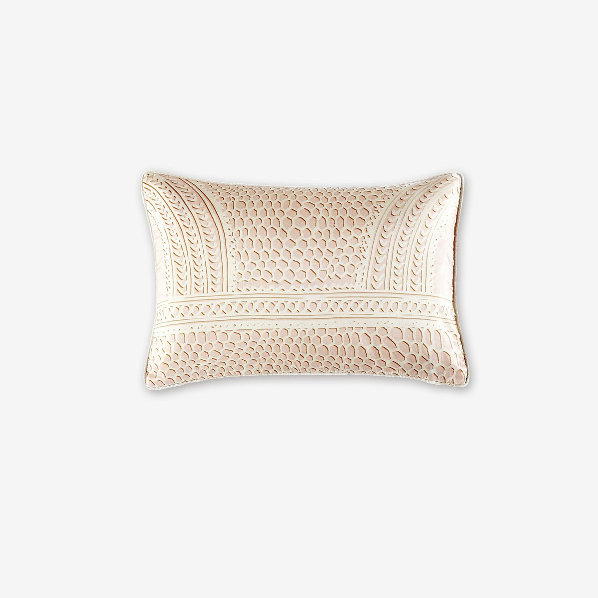 Image shows Bridget Cushion in Peony