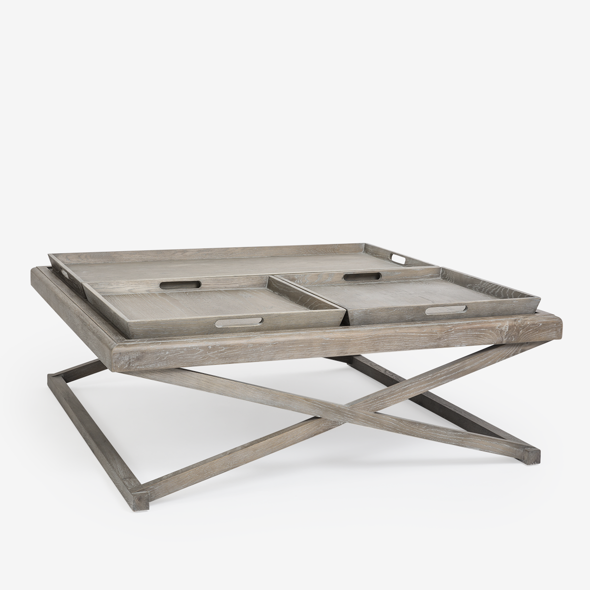 X Tray Coffee Table