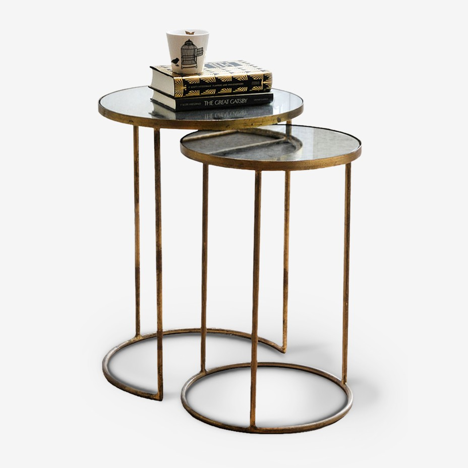 Double O Side Table