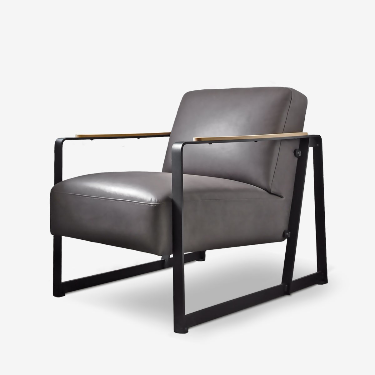 Harvey's Armchair in Ash Leather