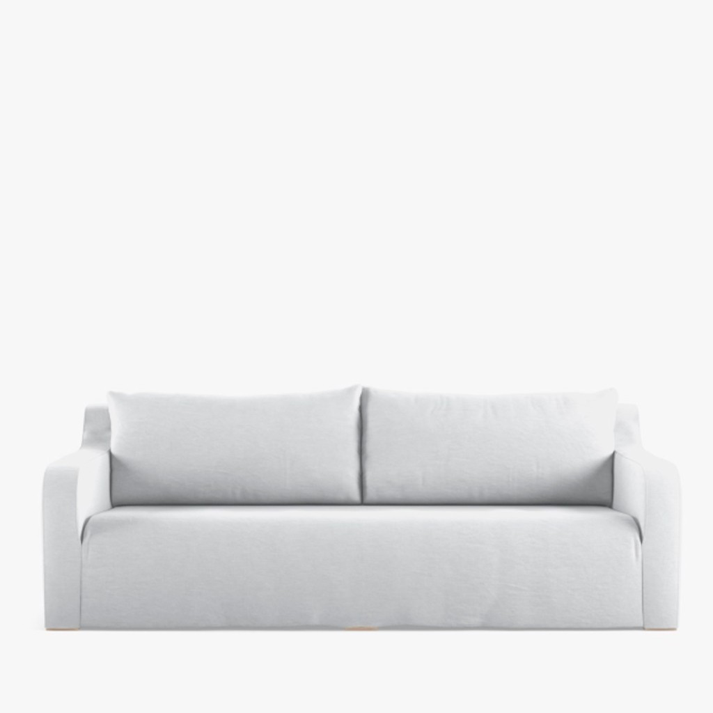 Loose Cover Linen Sofa