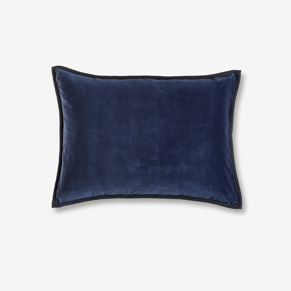 Image shows Orphee Cushion in Winter Blue