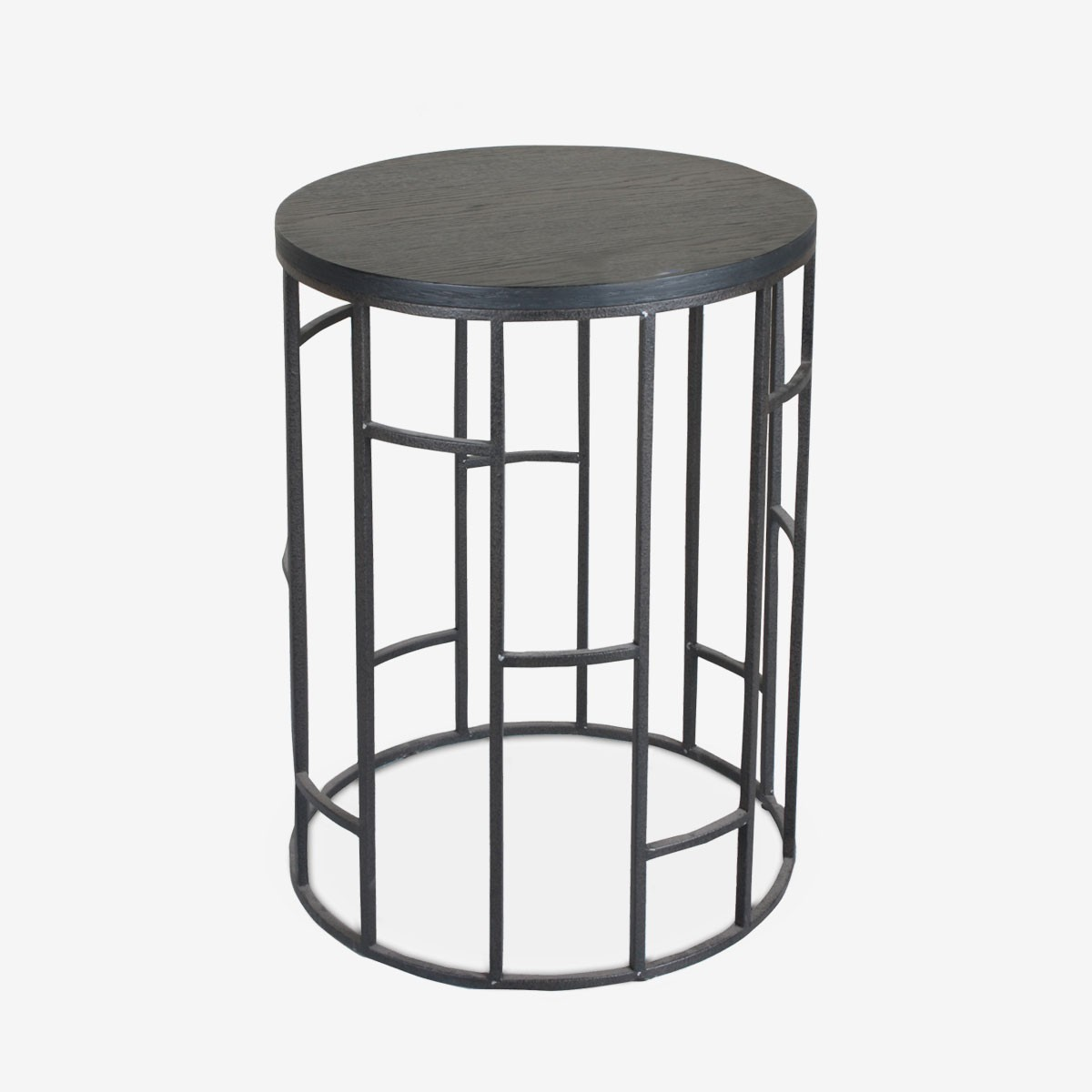 Circular Grid Side Table