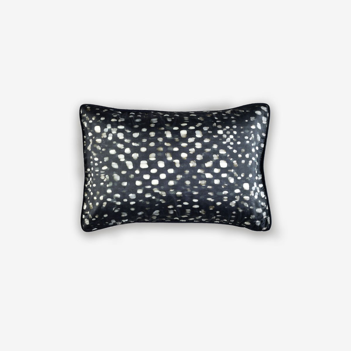 Springs Cushion in Caviar
