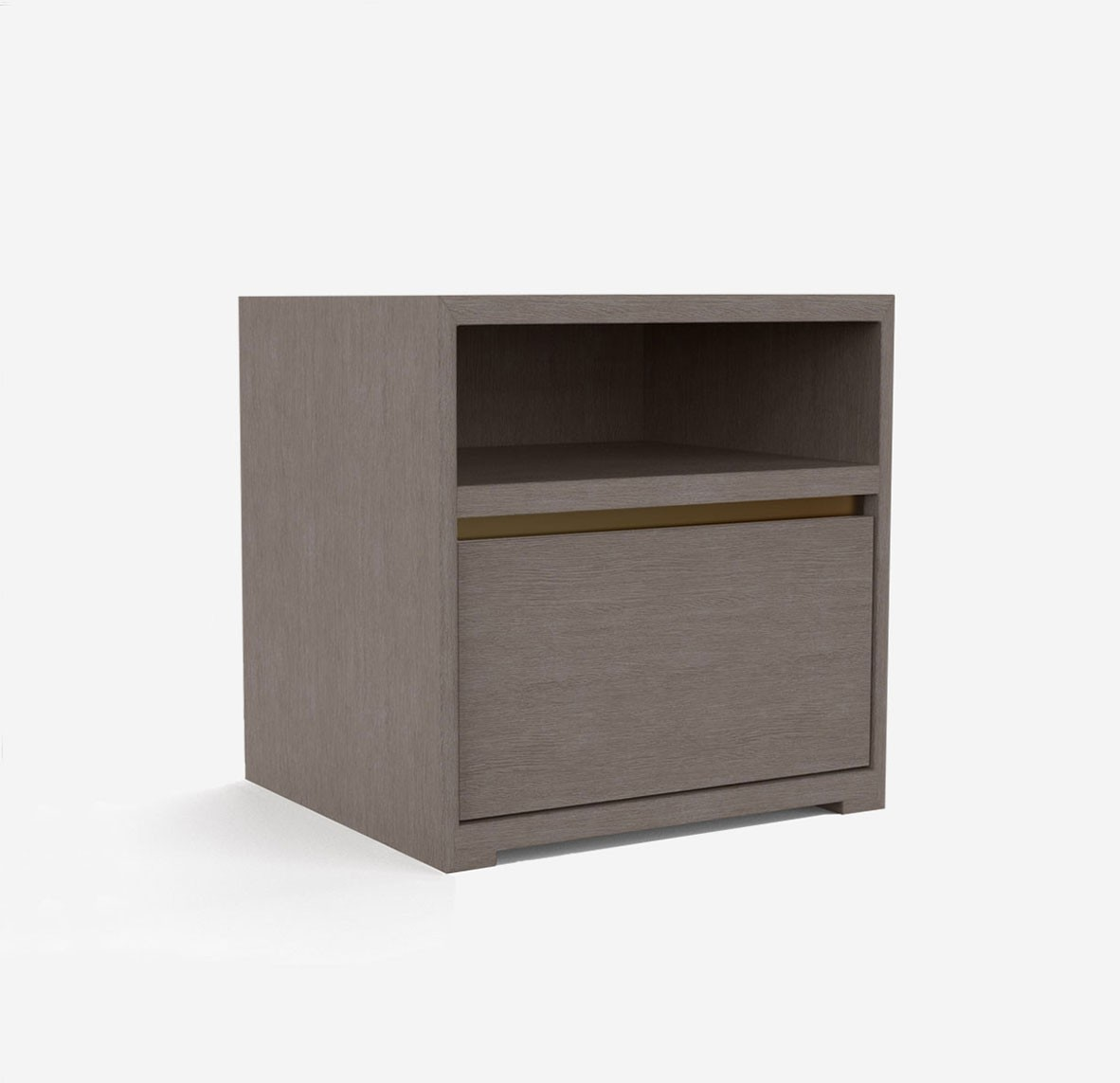 Style and Store Bedside - Smoked Birch