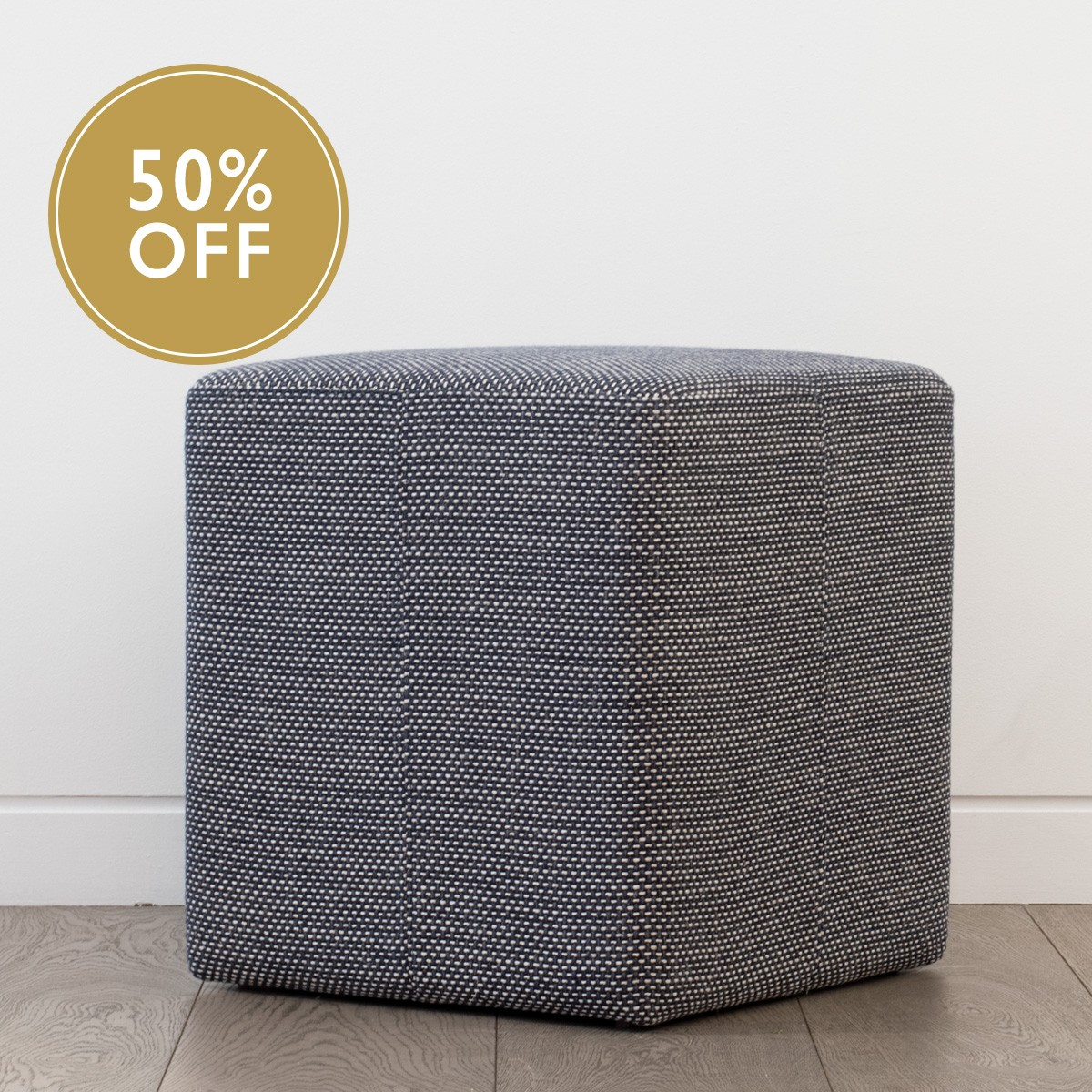 Upholstered Cube Stool