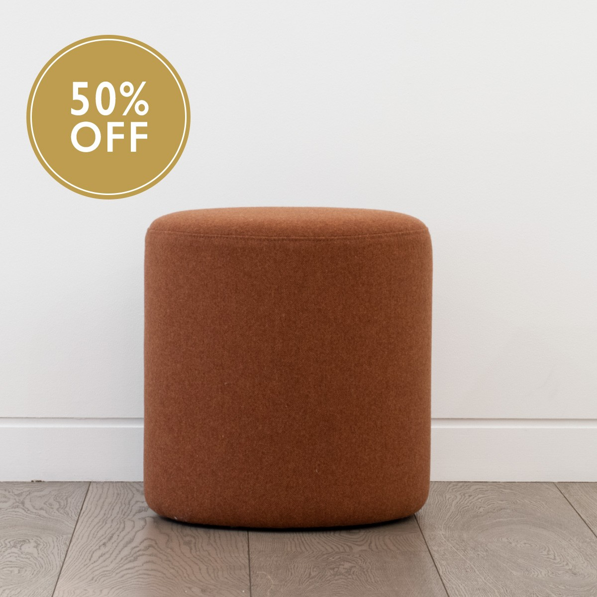 Tailored To Perch Stool Paprika