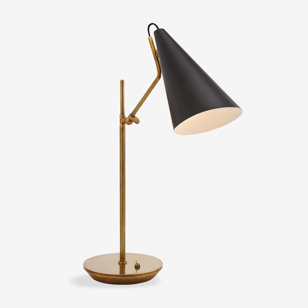 Studio Style Desk Lamp Black