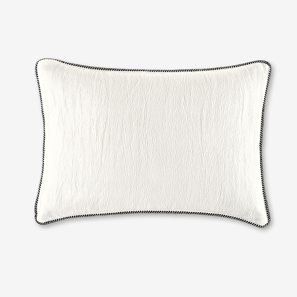 Image shows Waves Cushion in Snow