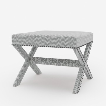 Studded to Sit Stool