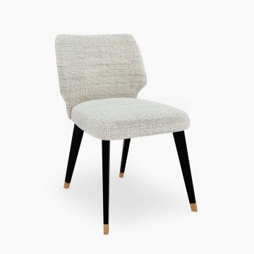 Cool Classic Dining Chair in Woven Texture