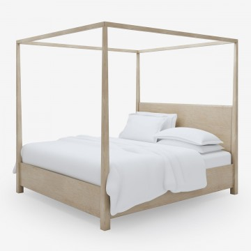 Perfect Four Poster Bed in Natural Timber