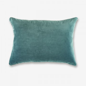 Image shows Eurydice Cushion in Eucalyptus
