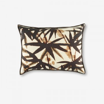 Image shows Urban Jungle Cushion in Night