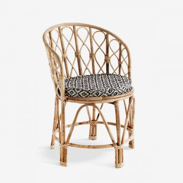 Boho Chair in Natural Bamboo I Ex-display