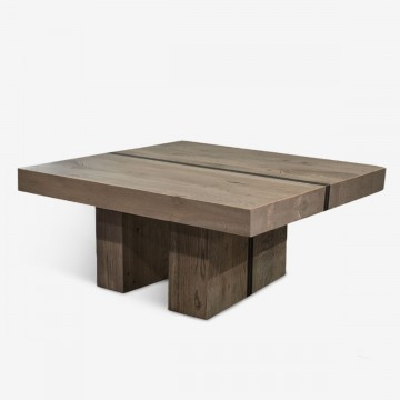 Timber Top Coffee Table
