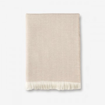 Heritage Merino Throw in Fawn