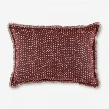 Image shows Jazz Cushion in Grape