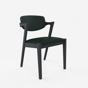 Ziggy Dining Chair - Relaxed Wool - Charcoal