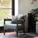Image shows Charlotte's Chair in Nordic Herringbone