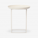 Image shows So Versatile Mini Side Table in Antique White