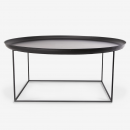 Image shows So Versatile Maxi Coffee Table in Earth Black