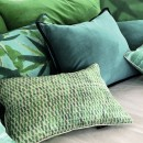 Image shows Soria Cushion in Garden
