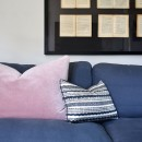 Image shows Fizz Cushion in Night