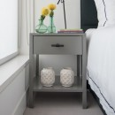T-bar bedside table