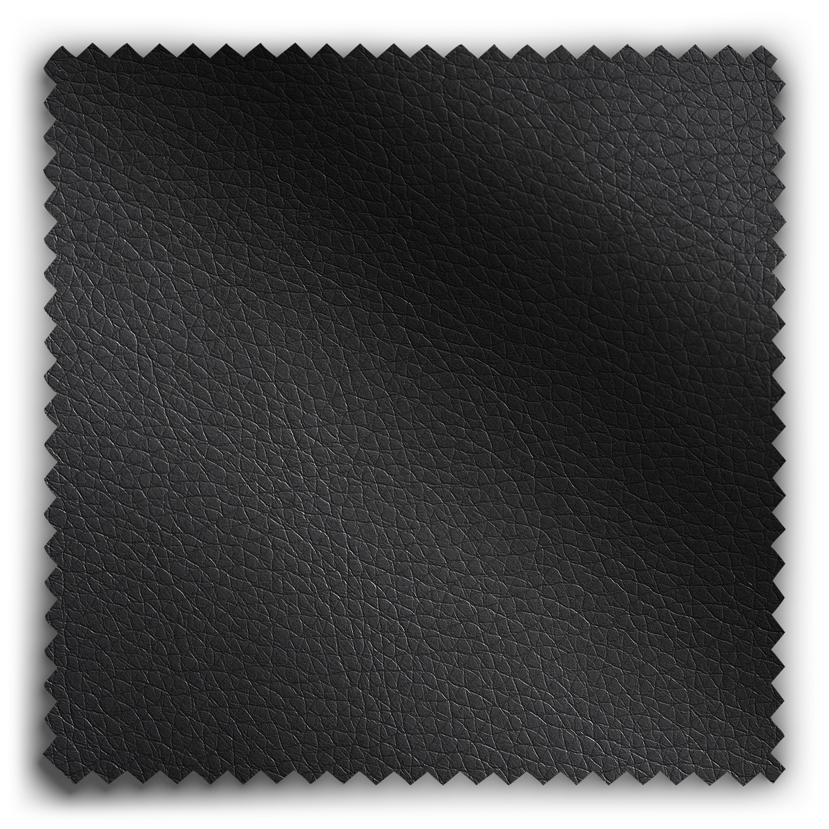 Image of Charcoal Leather fabric