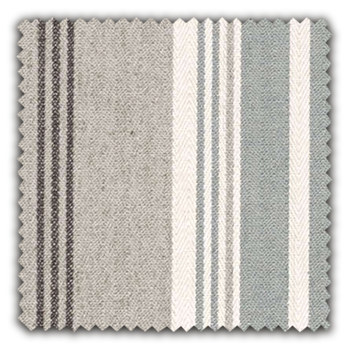 Image of Herringbone Stripe fabric