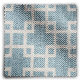Image of Geometric Soft Blue  fabric