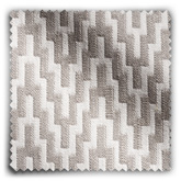 Image of Chevron Stone Grey fabric