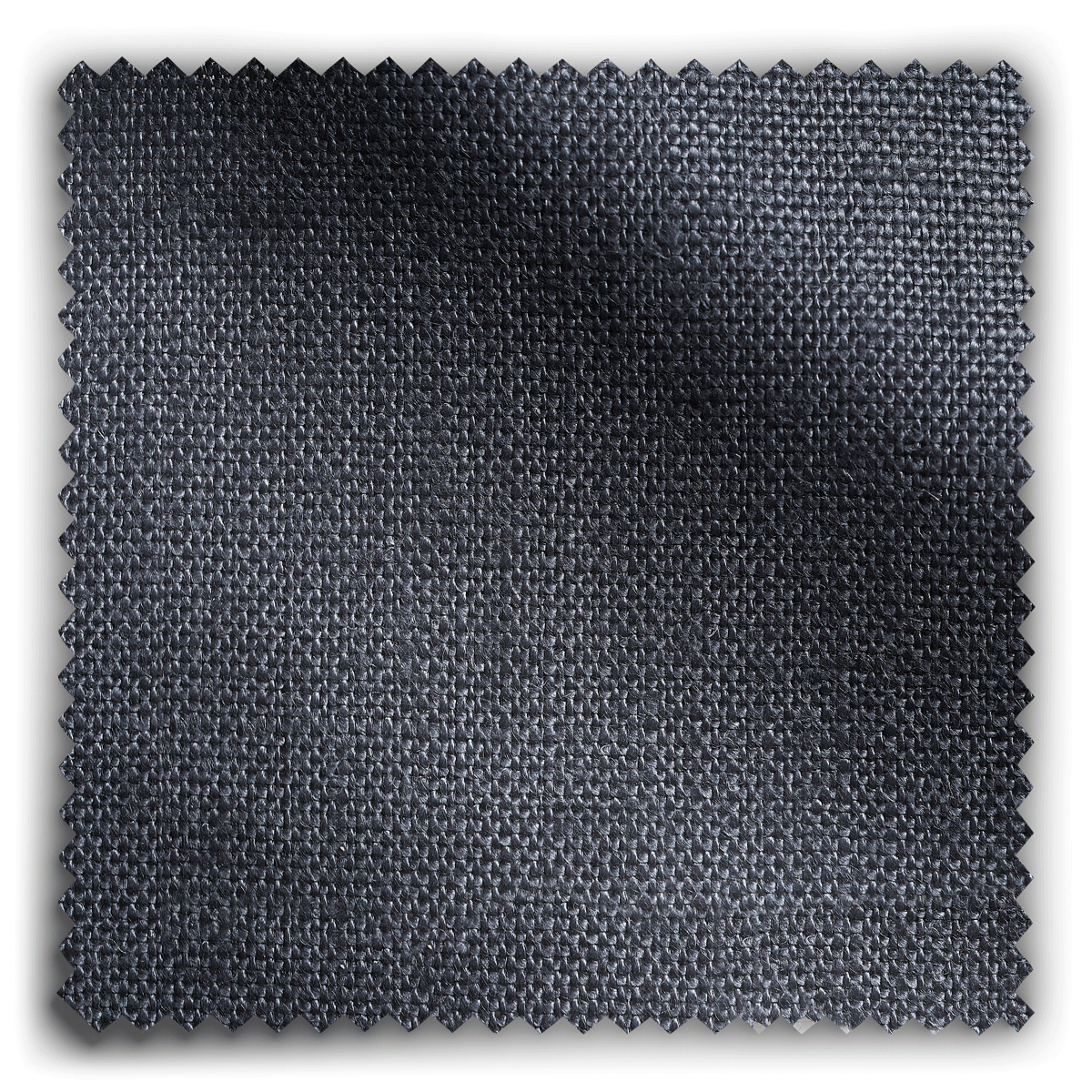 Image of Nordic Linen Lead Grey  fabric