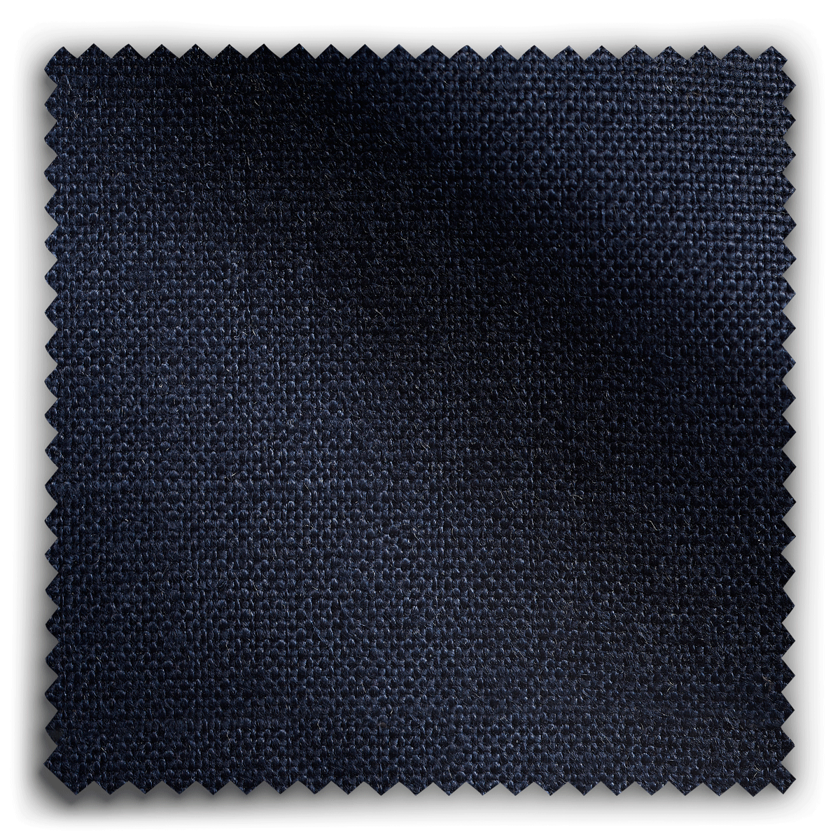 Image of Nordic Linen Midnight Blue  fabric