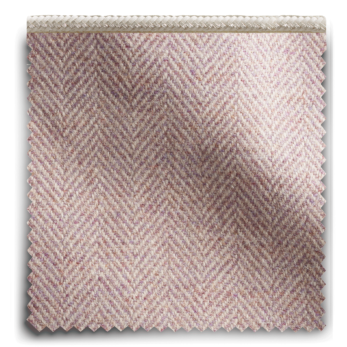 Image of Relaxed Herringbone Heather Pipe fabric