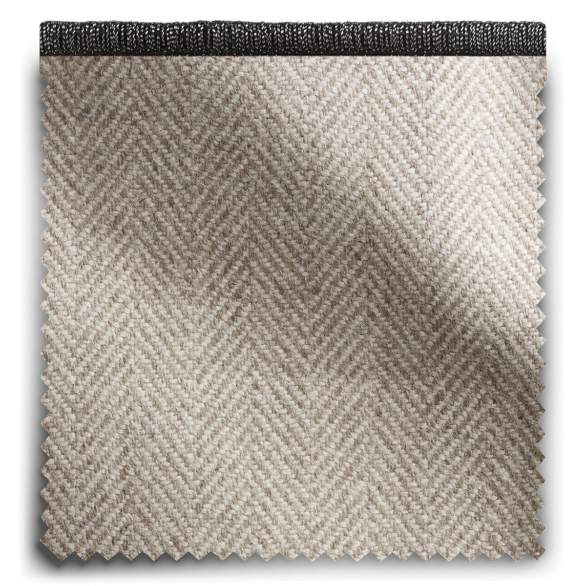 Image of Relaxed Herringbone Soft Stone Pipe fabric