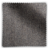 Image of Relaxed Herringbone Soft Graphite  fabric