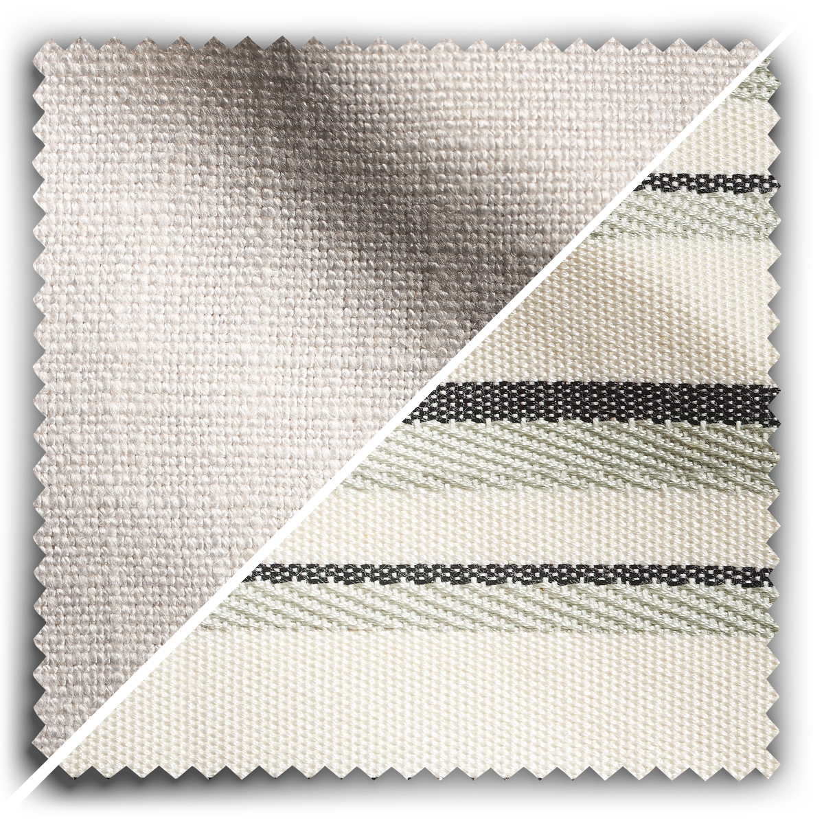 Image of Studio Stripes Soft Stone fabric