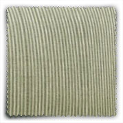 Image of Striped Sage Linen fabric