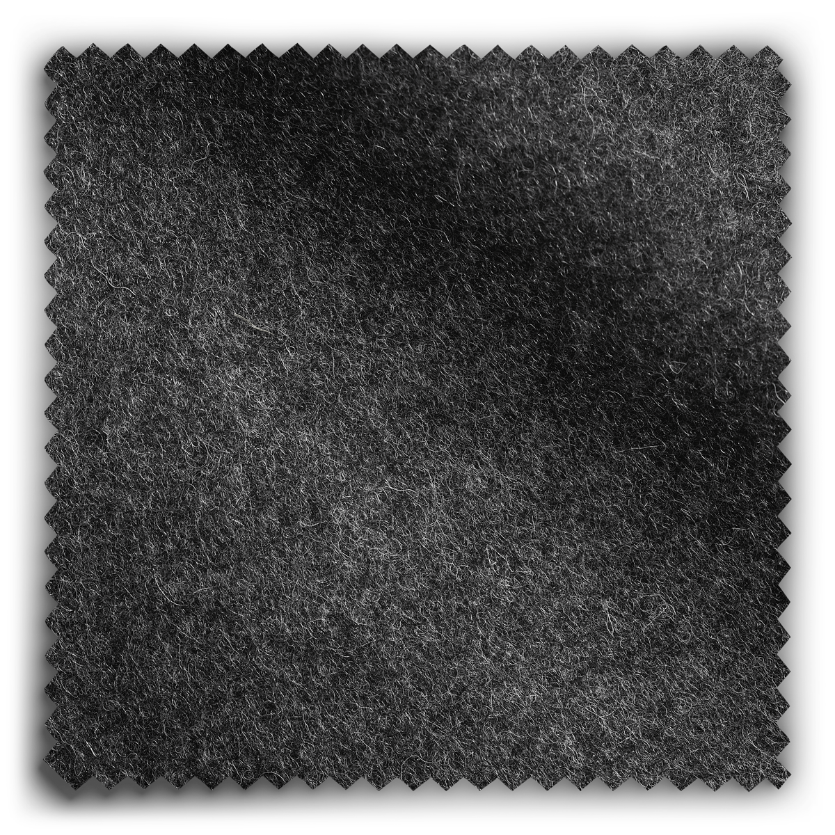 Image of Simply Wool Charcoal fabric
